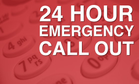 24 Hour Emergency Cal Out