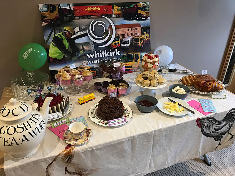 Our own #GBBO raises funds for Macmillan