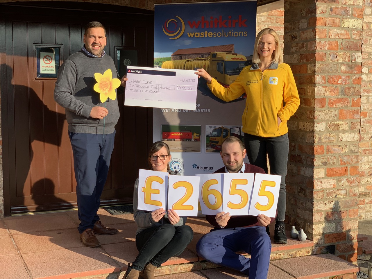 Easingwold and York area to benefit from funds to help cover 130 hours of Marie Curie nursing