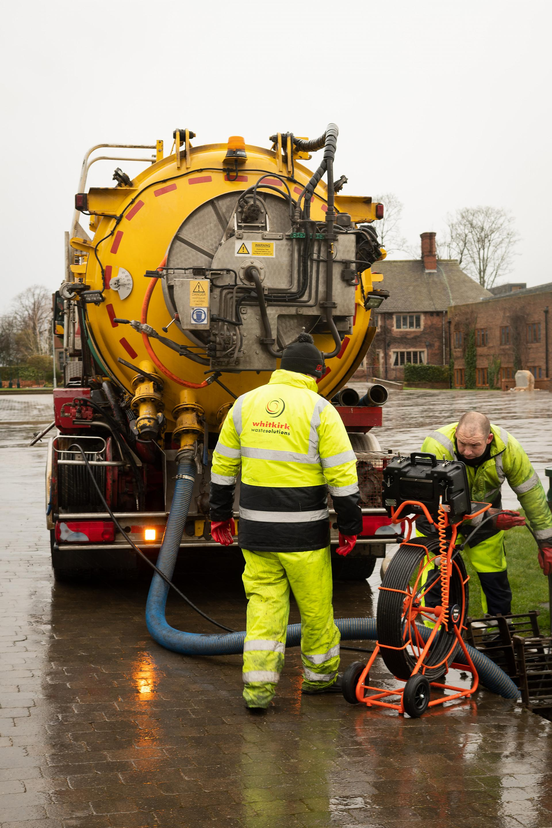 Drainage services and pollution control